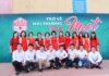Chụp ảnh họp lớp, kỷ niệm 25 năm ra trường THPT Lê Quý Đôn